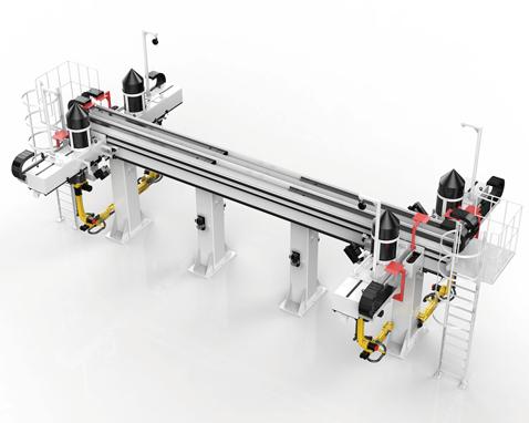 三轴焊接桁架