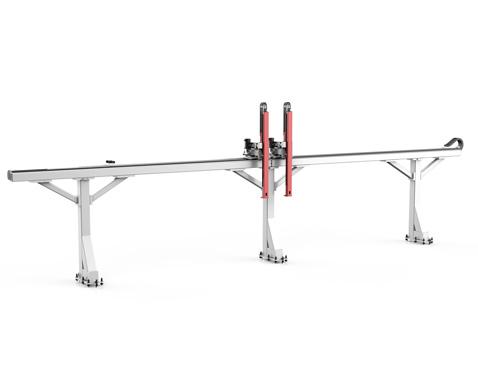 悬臂式三轴桁架机械手